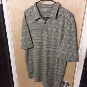 EUC VTG Nike Golf vintage dri-fit polo shirt men's